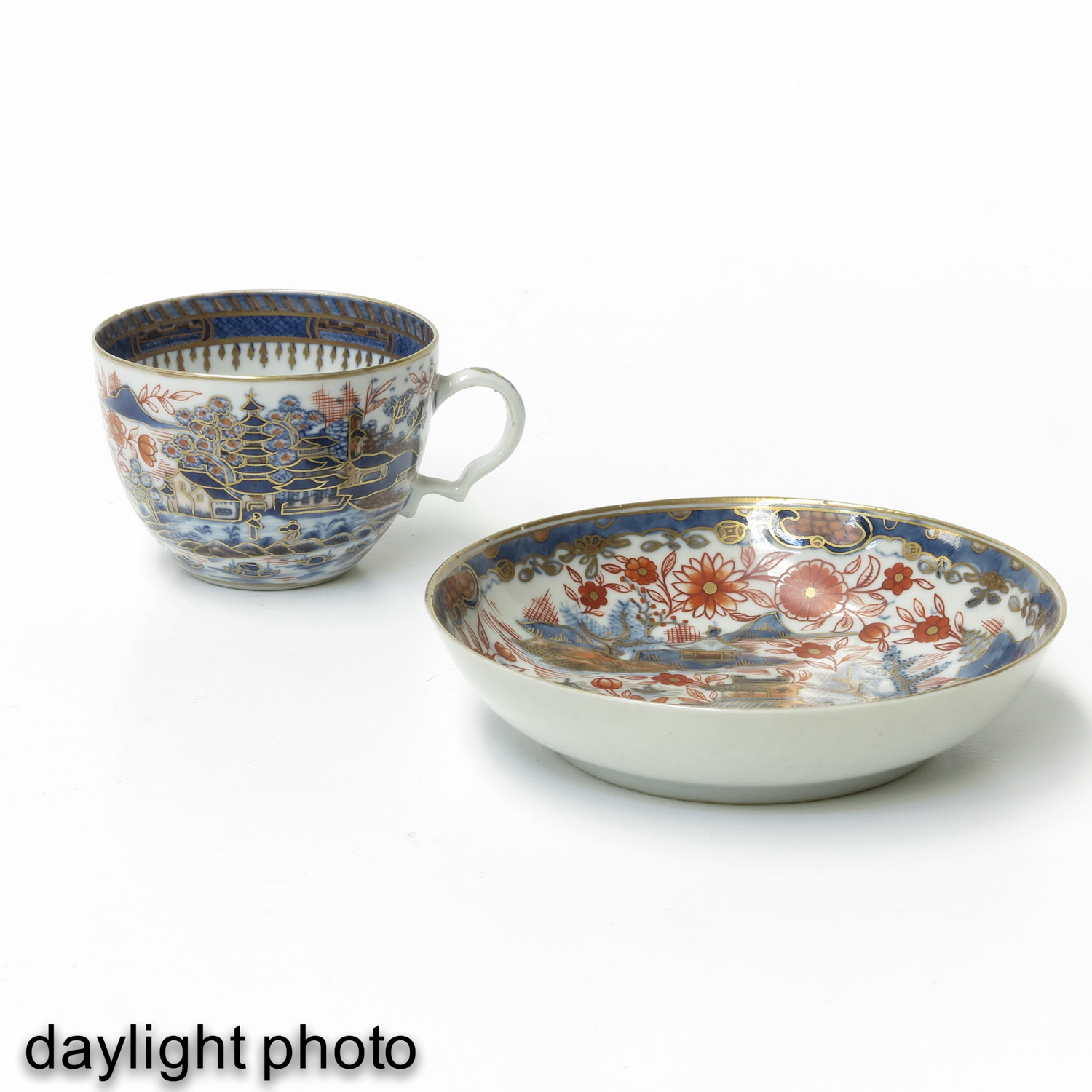 4 Imari Cups and Saucers - Image 9 of 10
