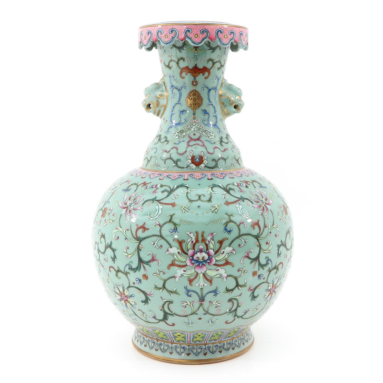 A Famille Rose Vase - Image 3 of 10