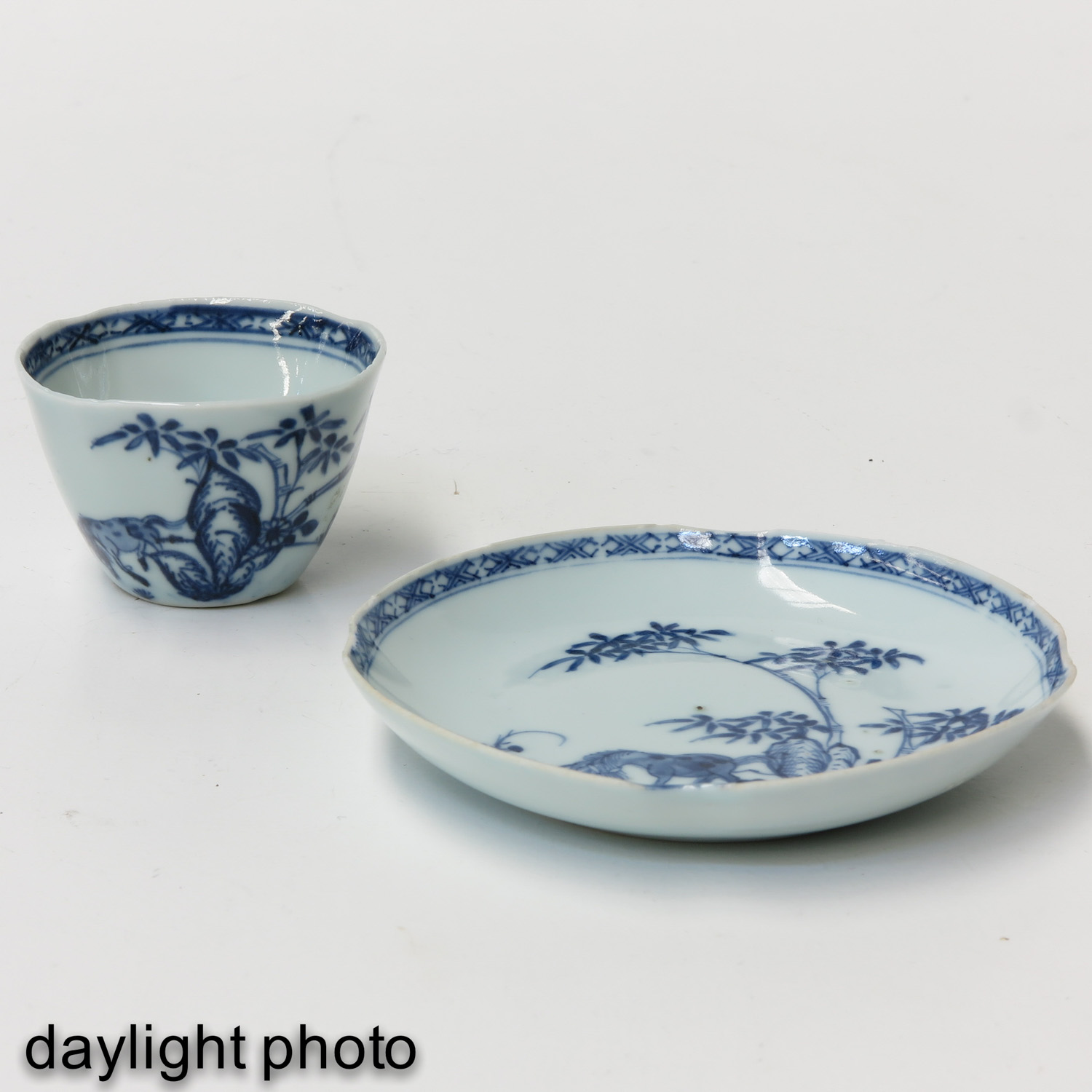 A Collection of 3 Cups and Saucers - Image 7 of 9