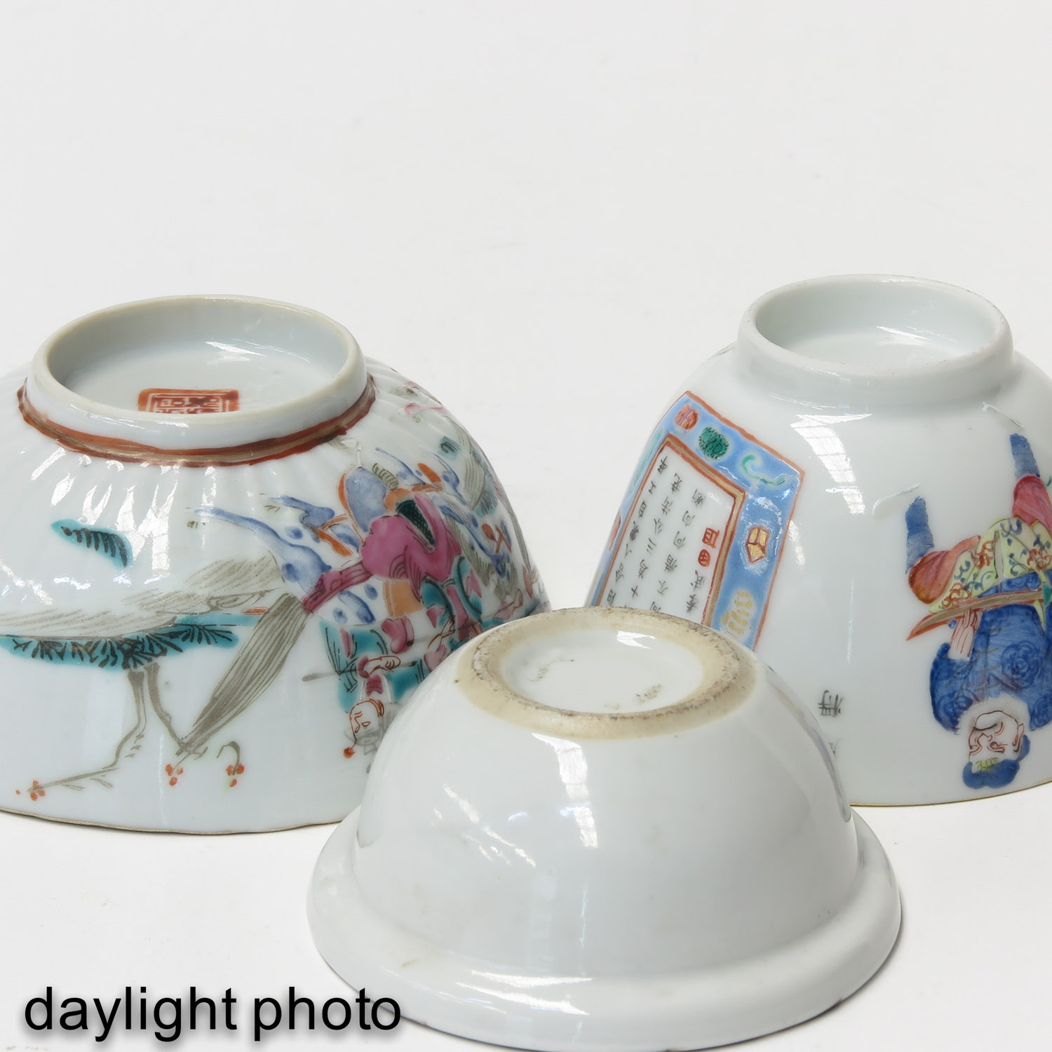 A Lot of 3 Cups - Image 8 of 9
