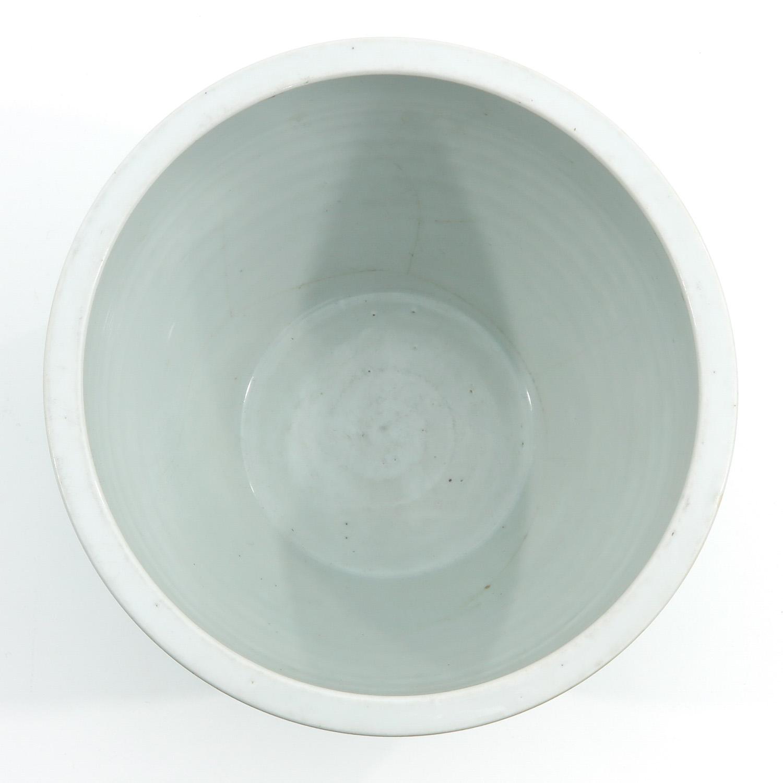 A Celadon Cache Pot - Image 5 of 9