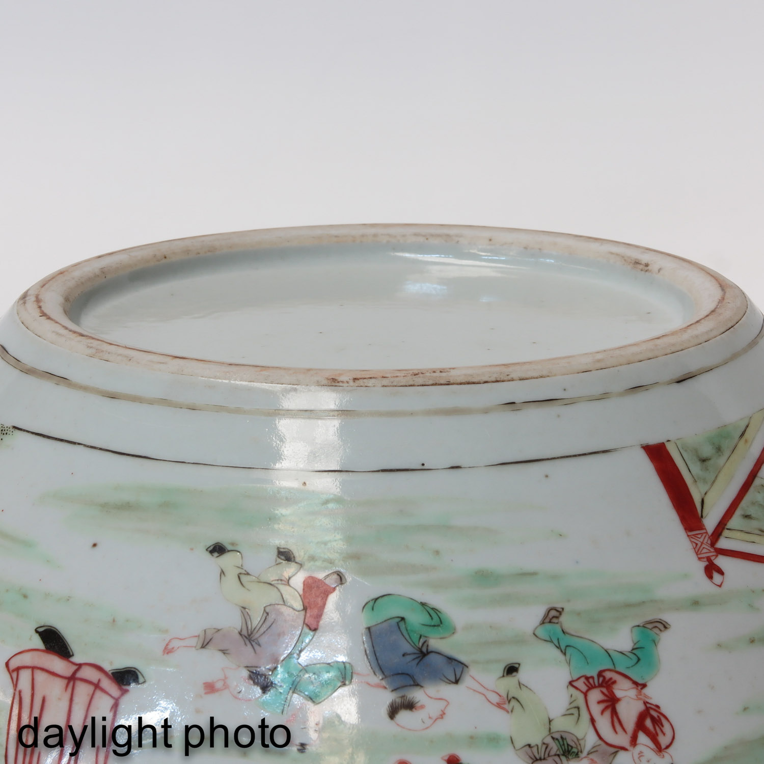 A Famille Verte Fish Bowl - Image 8 of 9