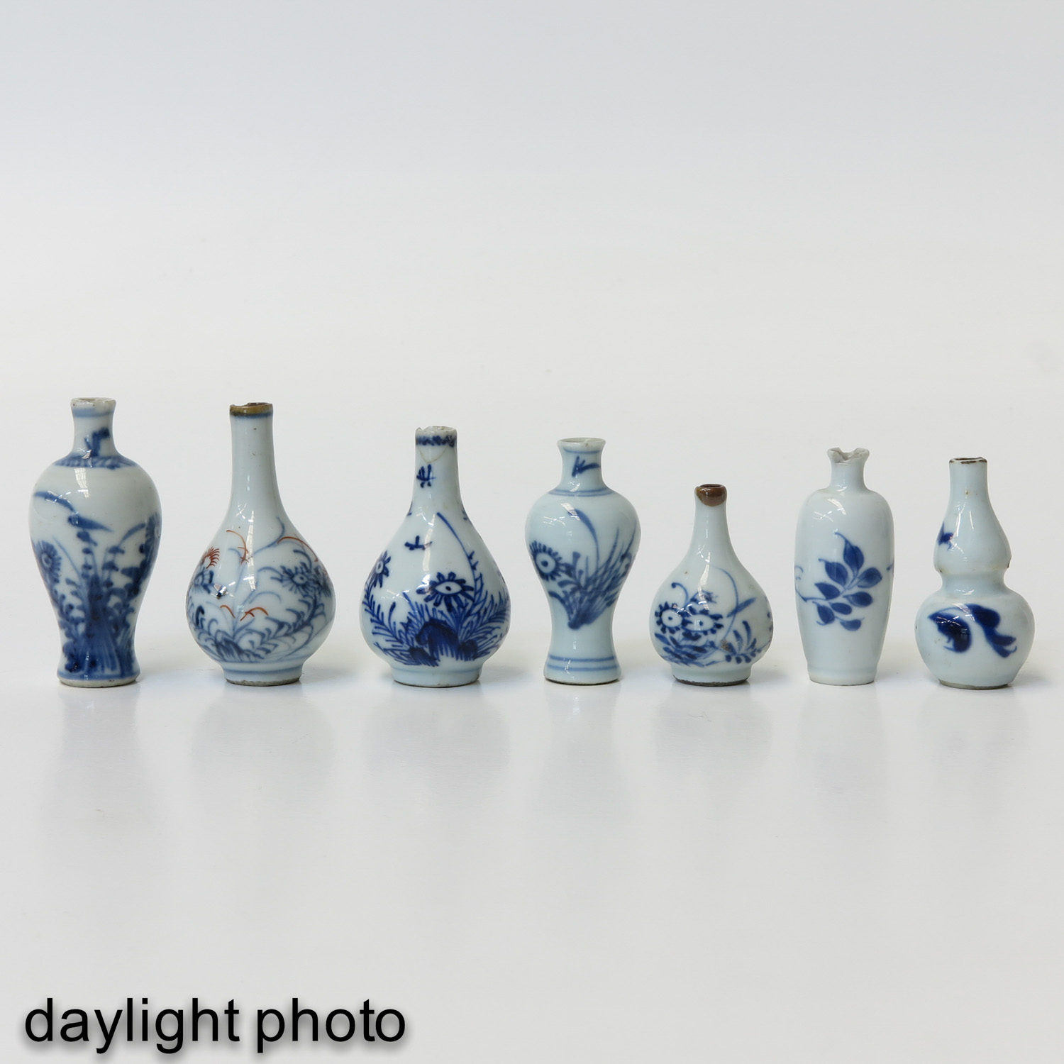 A Collection of 7 Miniatures - Image 7 of 9