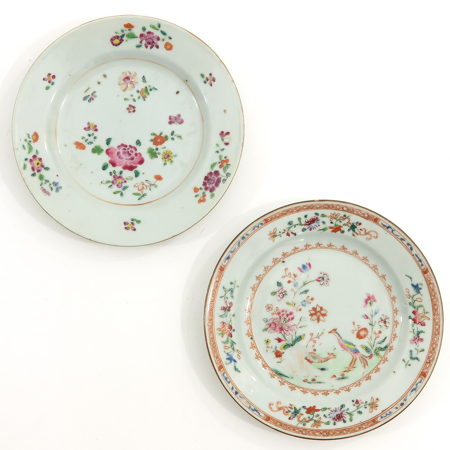 A Series of 4 Famille Rose Plates - Image 5 of 10