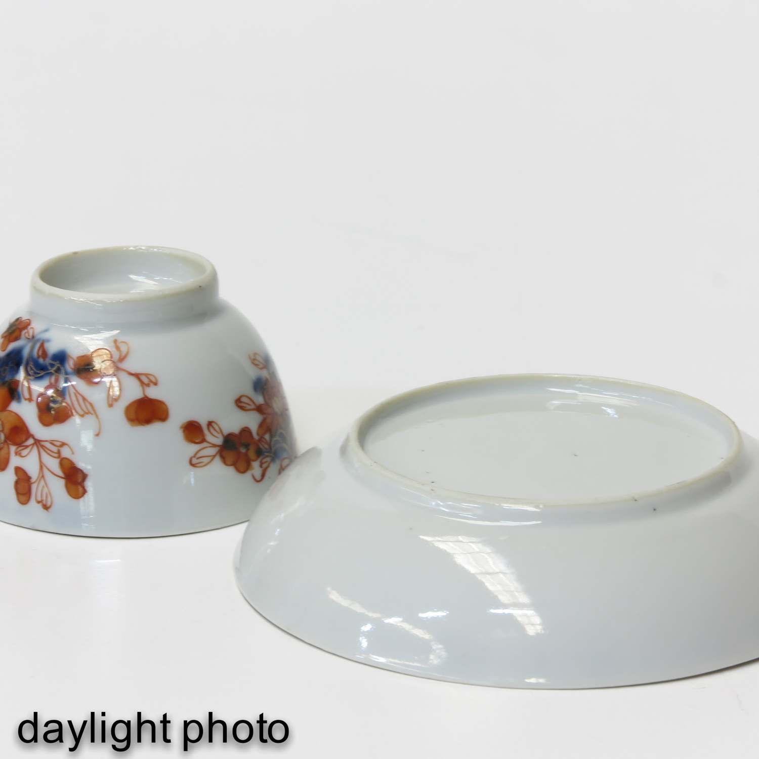 A Collection of Imari Cups and Saucers - Image 10 of 10