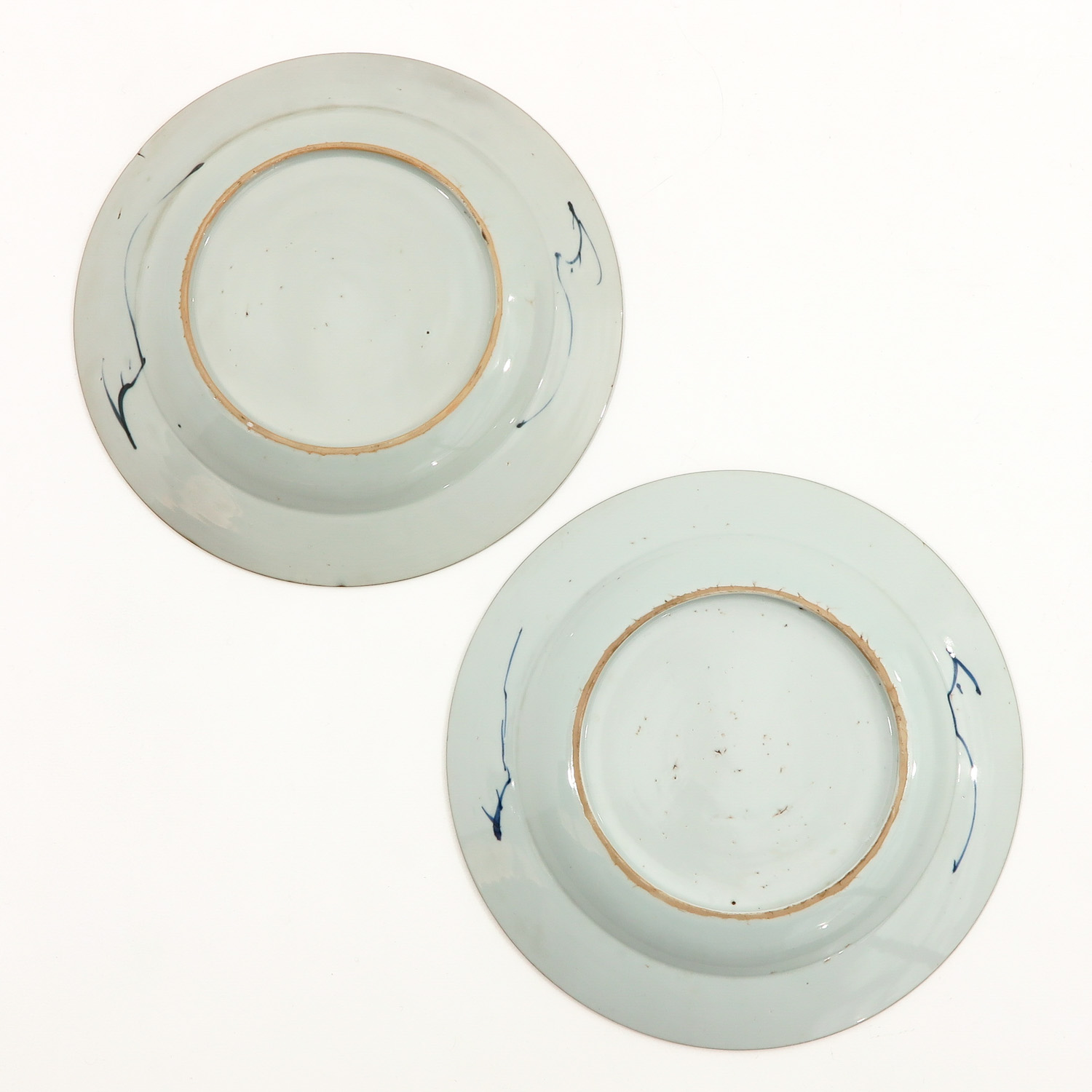 A Pair of Blue and White Plates - Image 2 of 9