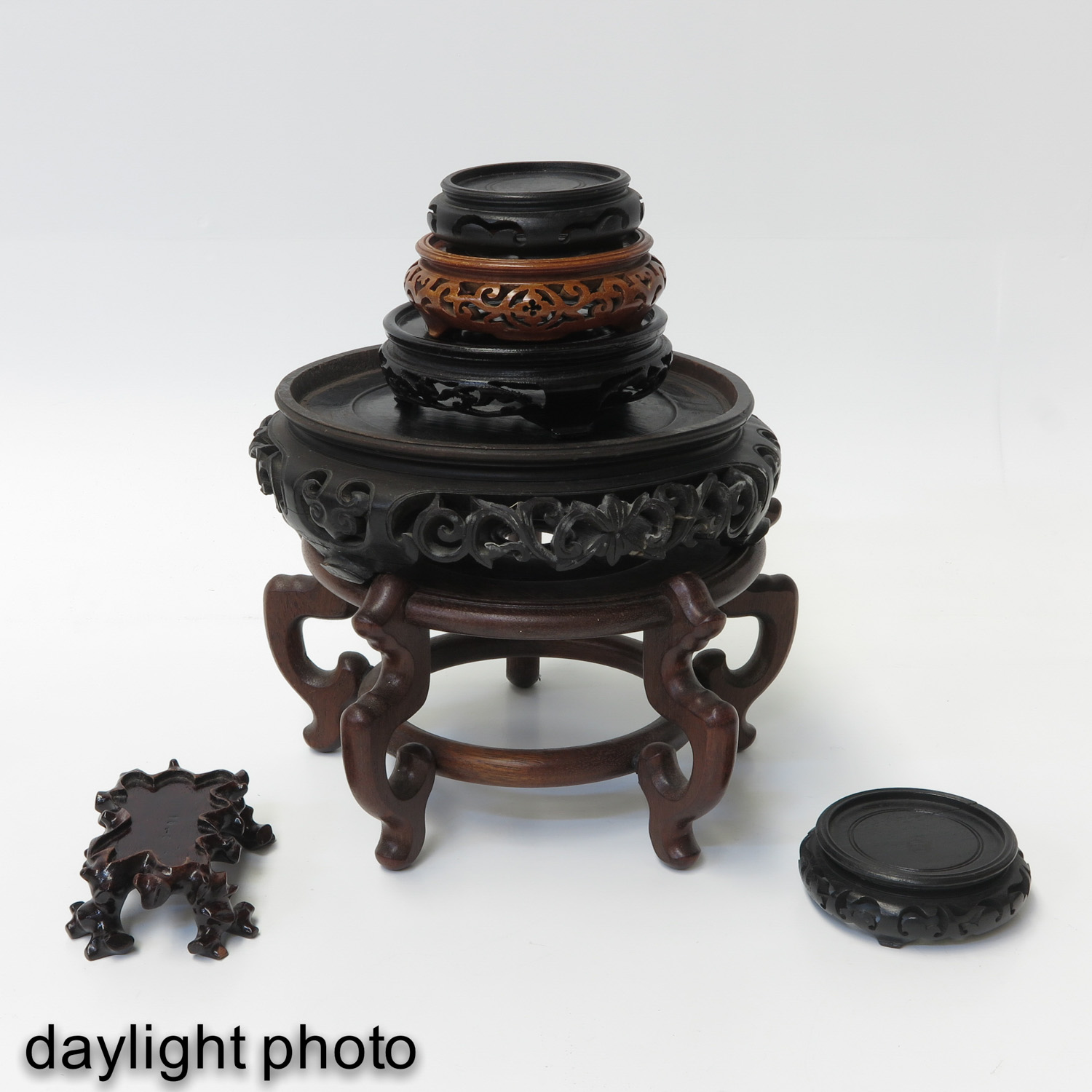 A Collection of Wood Bases - Image 7 of 8