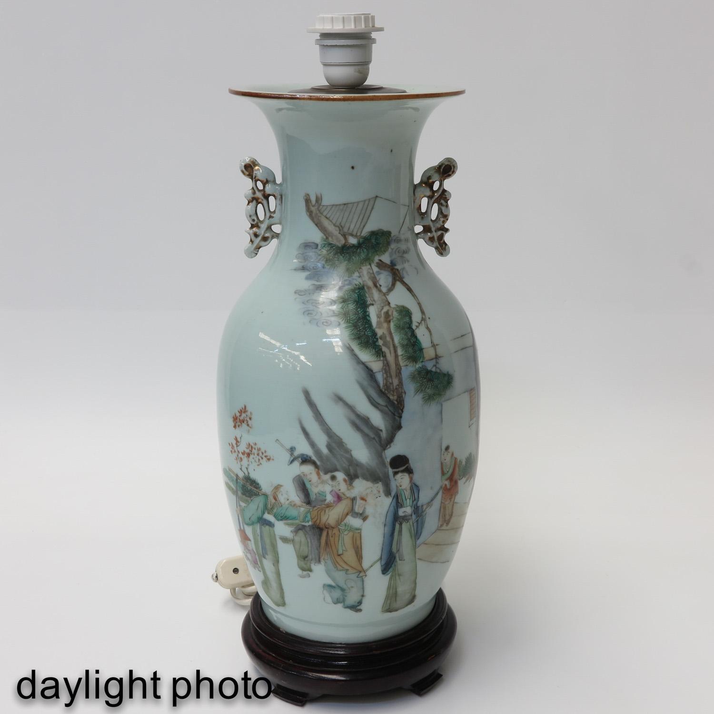 A Polychrome Decor Lamp - Image 7 of 10