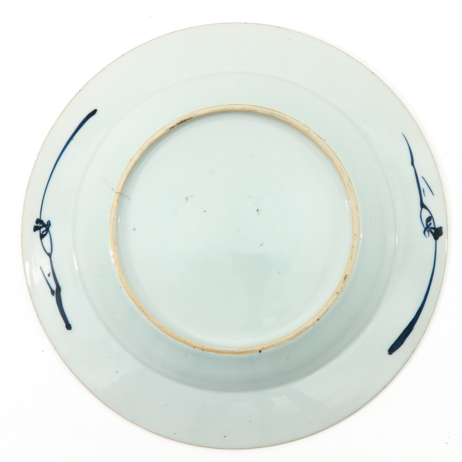 A Pair of Blue and White Plates - Image 6 of 9