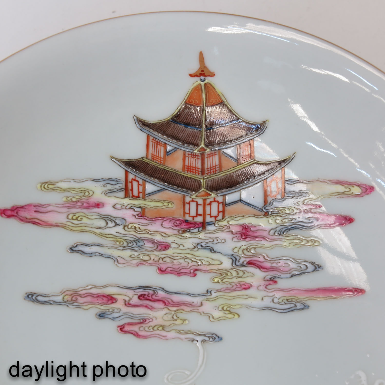 A Famille Rose Stem Bowl - Image 10 of 10