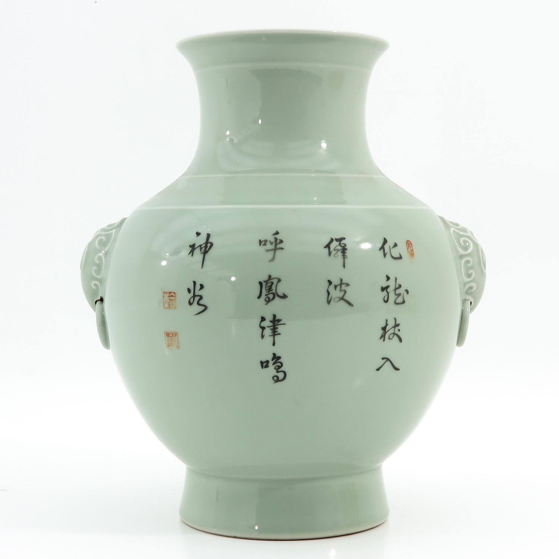 A Celdaon Vase - Image 3 of 10