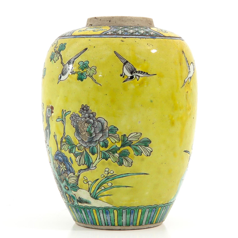 A Famille Jaune Vase - Image 2 of 9