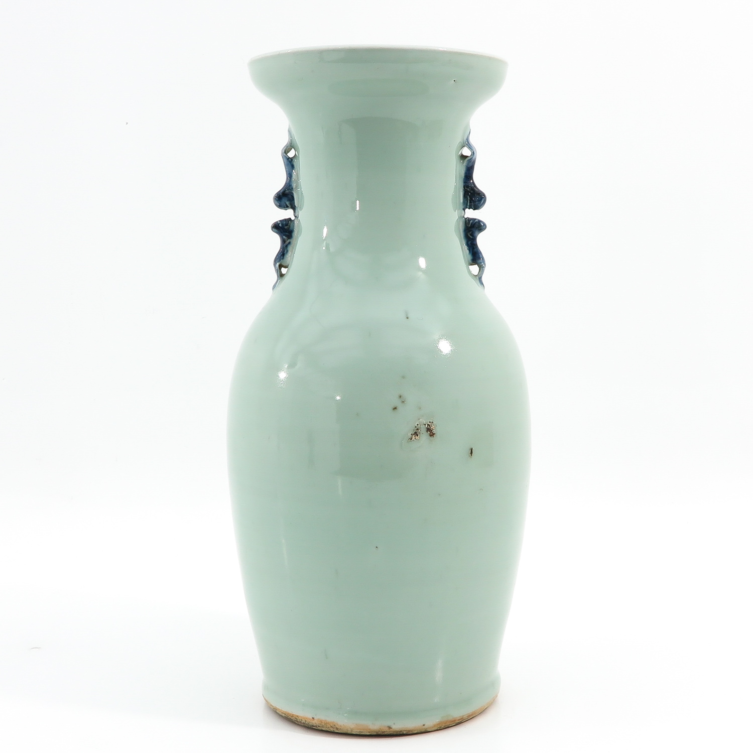 A Celadon and Blue Vase - Image 3 of 10