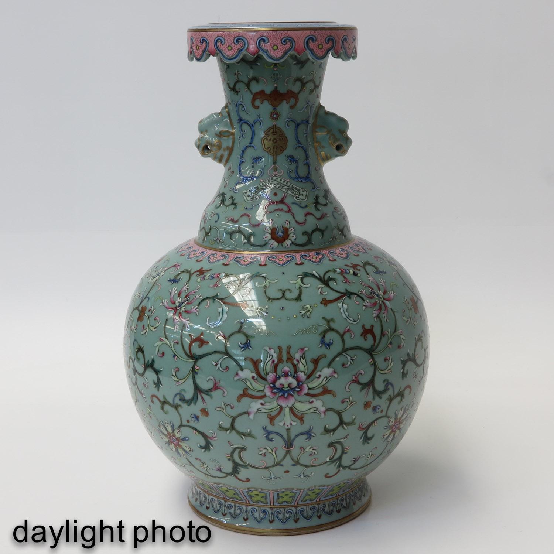 A Famille Rose Vase - Image 7 of 10