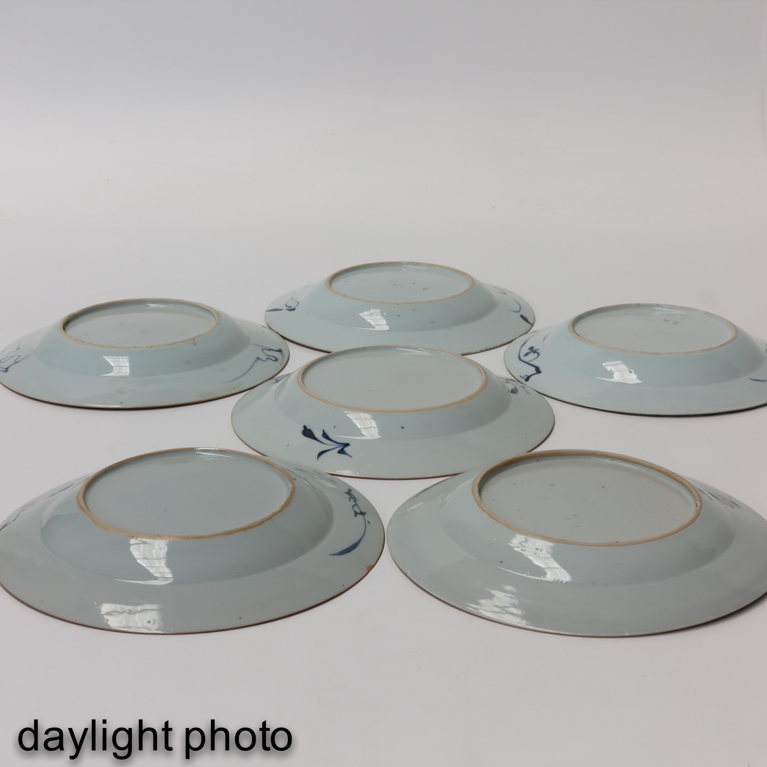 A Series of 6 Blue and White Plates - Image 10 of 10