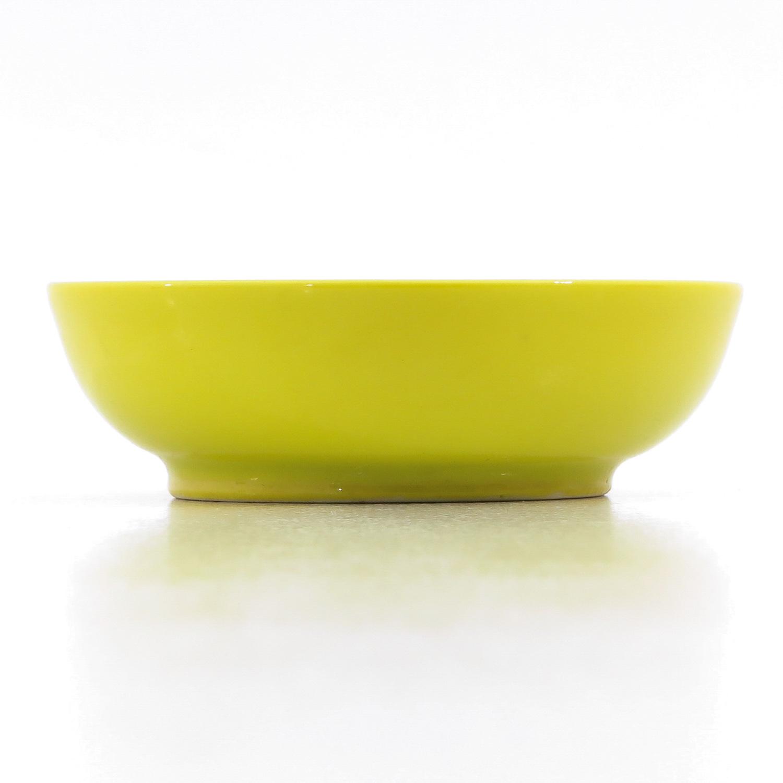 A Small Yellow Glaze Bowl - Image 3 of 9