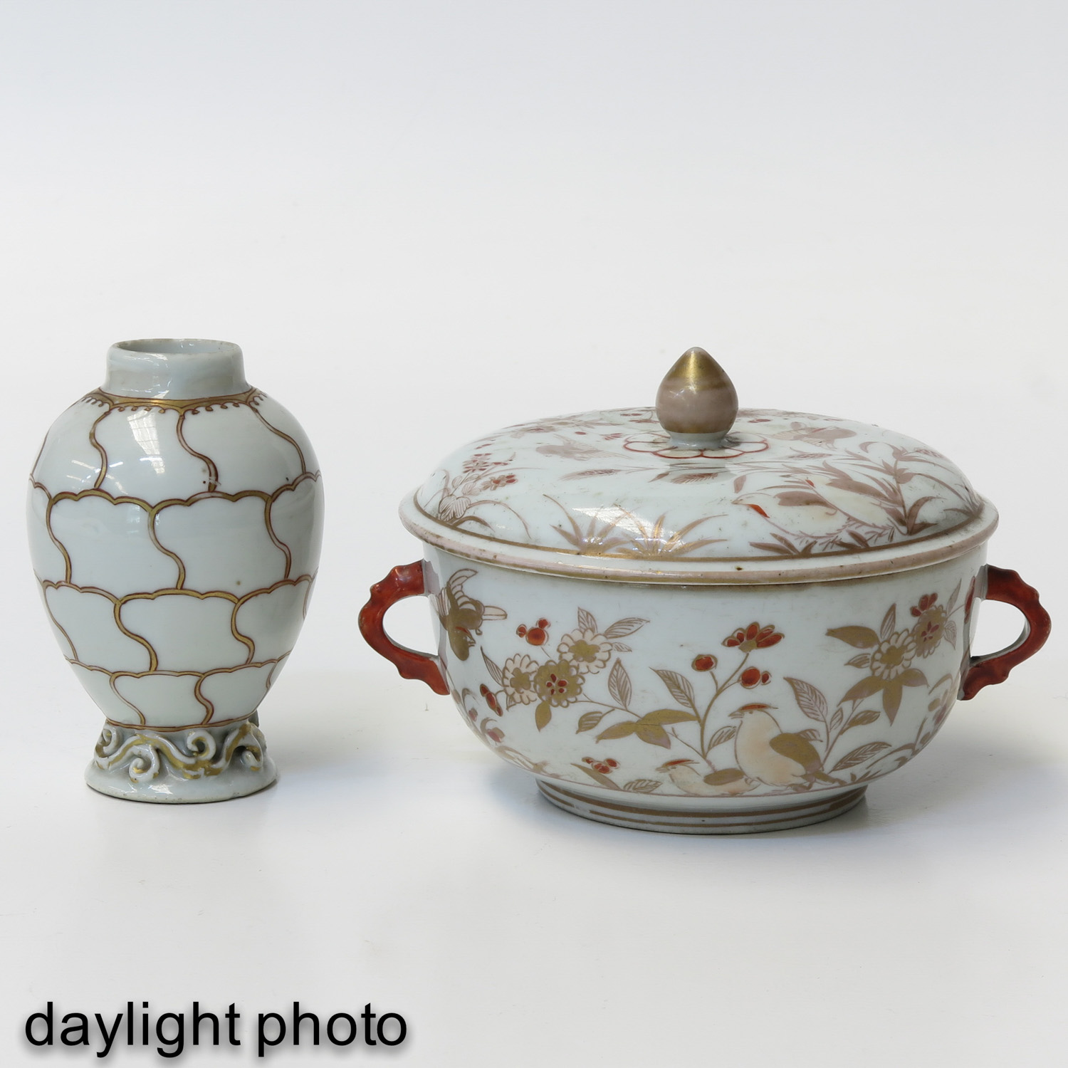 A Tea Box and Covered Dish - Image 7 of 9