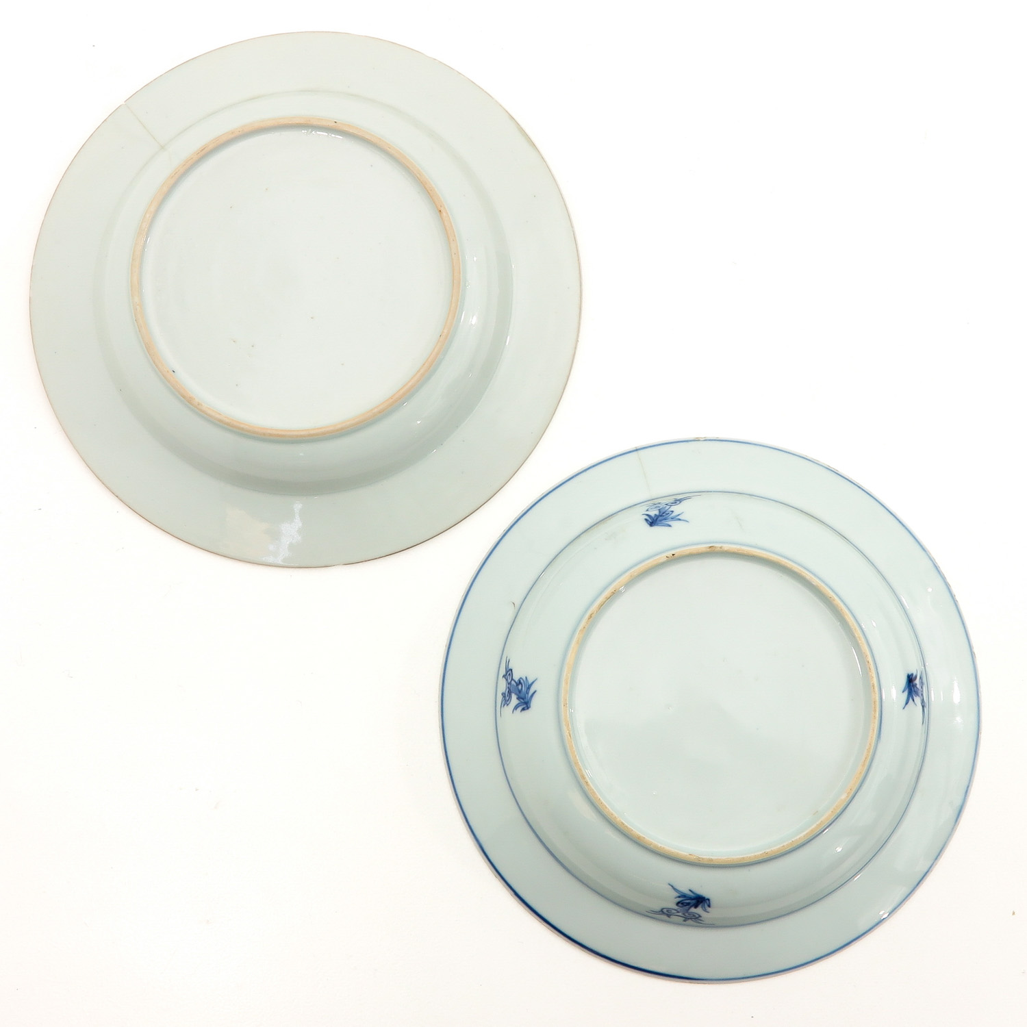 A Collection of 6 Blue and White Plates - Image 4 of 10