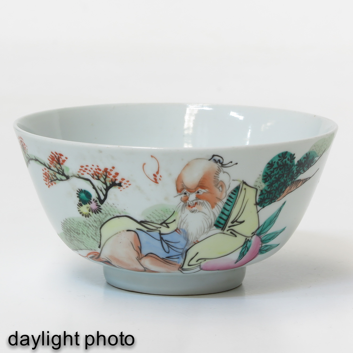 A Series of Polychrome Bowls - Image 7 of 9