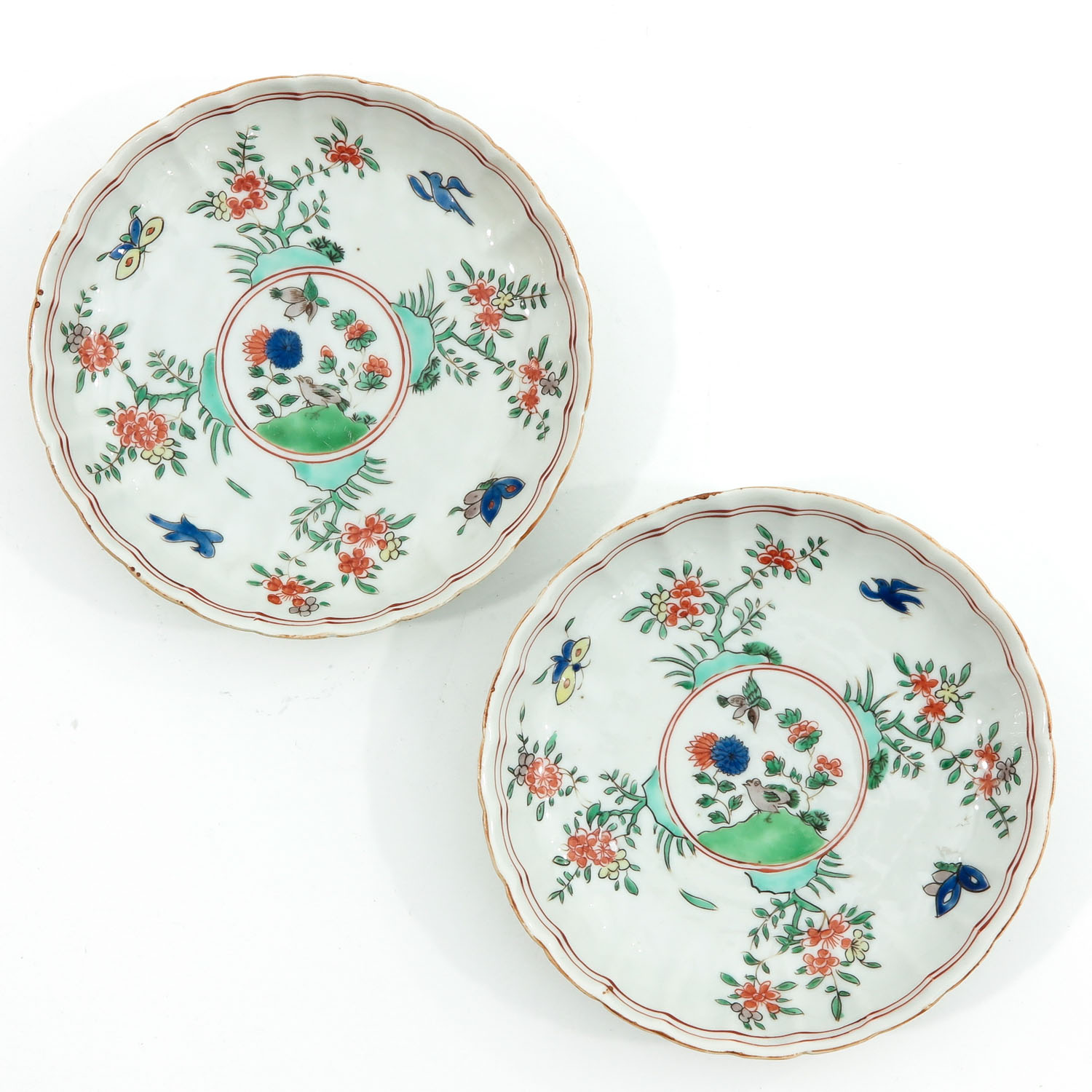 A Lot of 7 Small Plates - Image 7 of 10