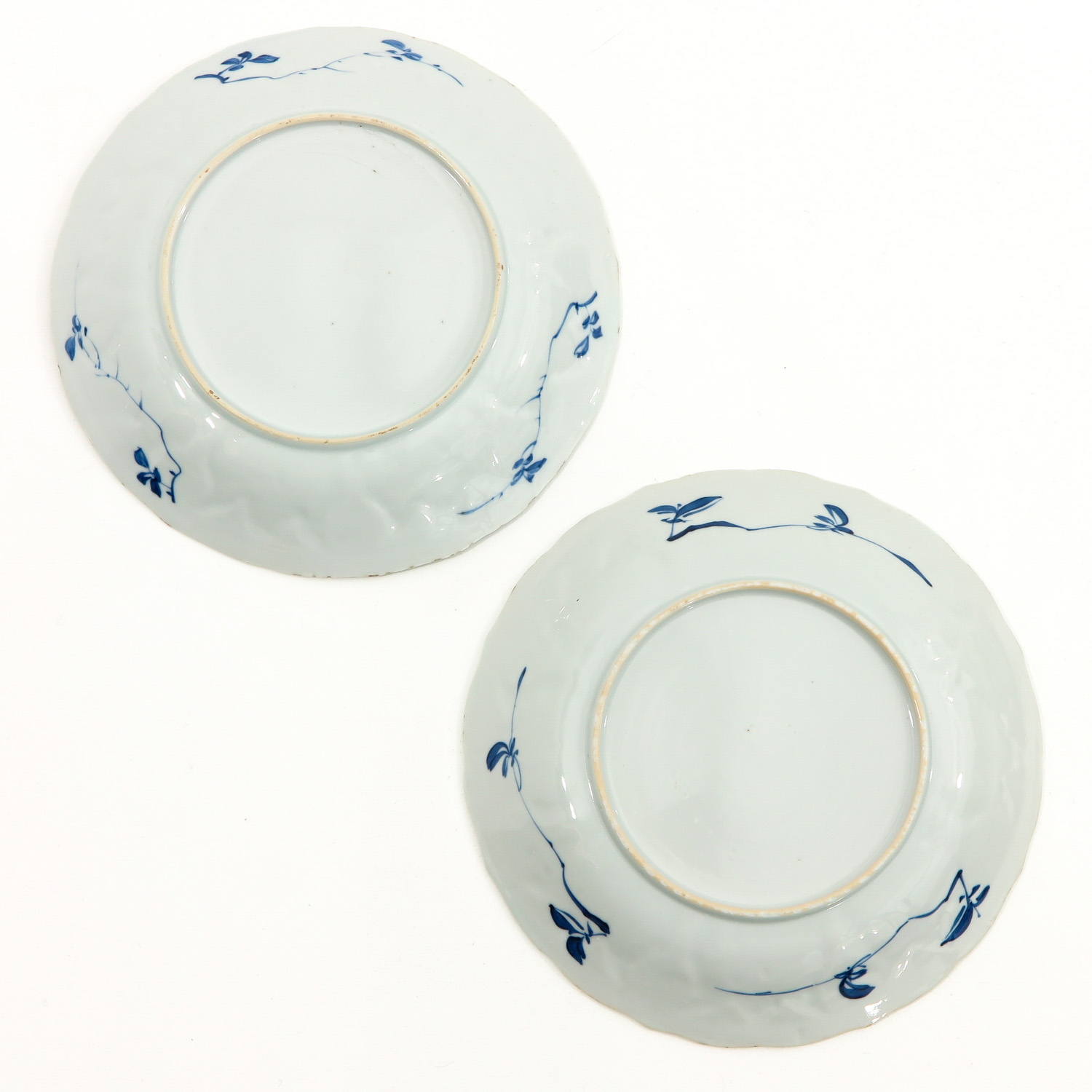 A Collection of 6 Blue and White Plates - Image 6 of 10