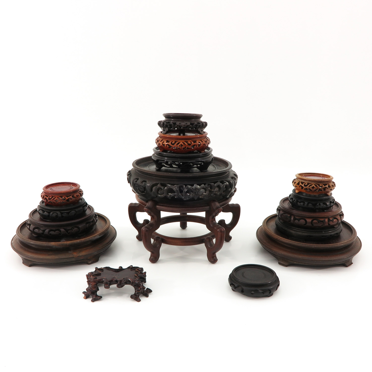 A Collection of Wood Bases