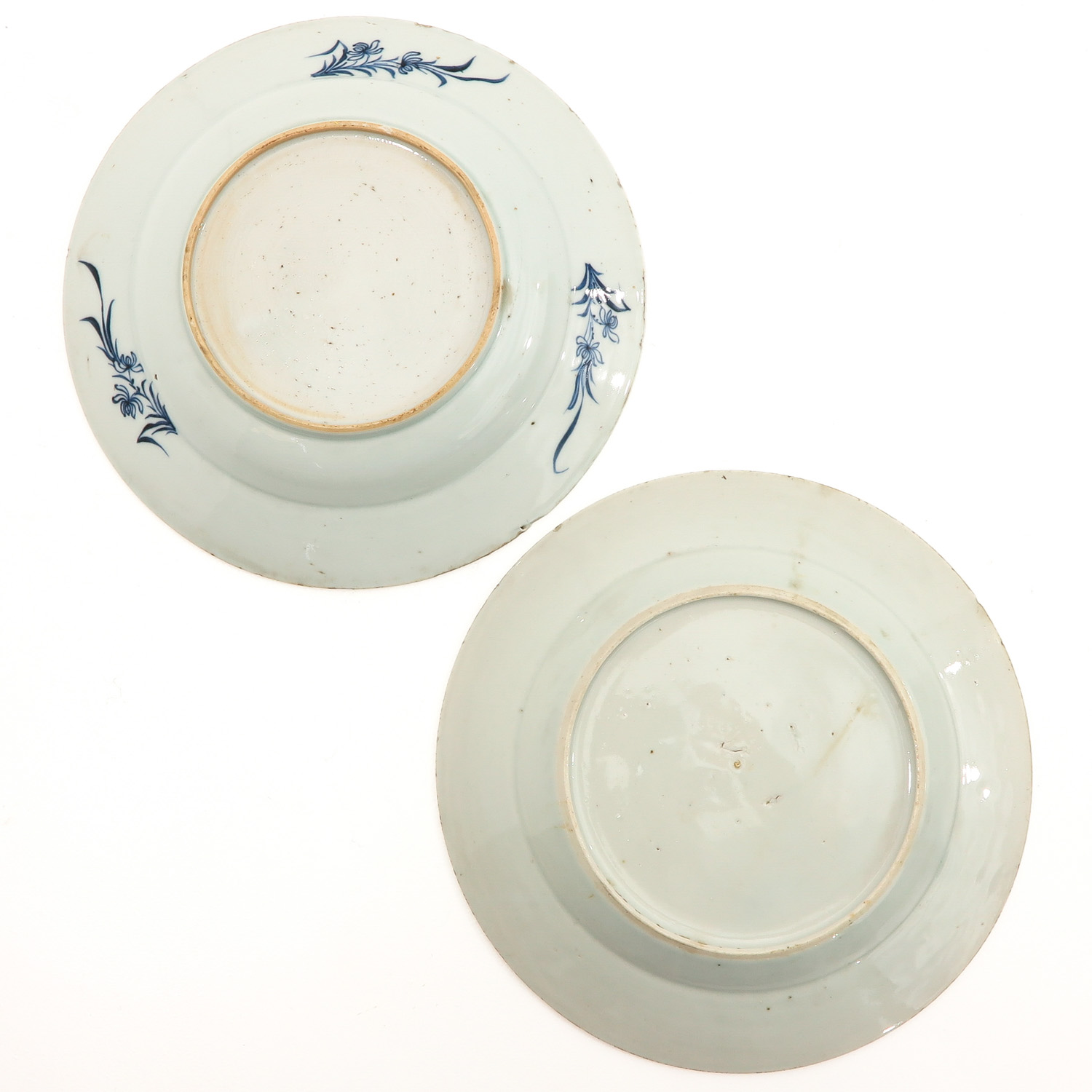 A Lot of 5 Blue and White Plates - Image 4 of 10