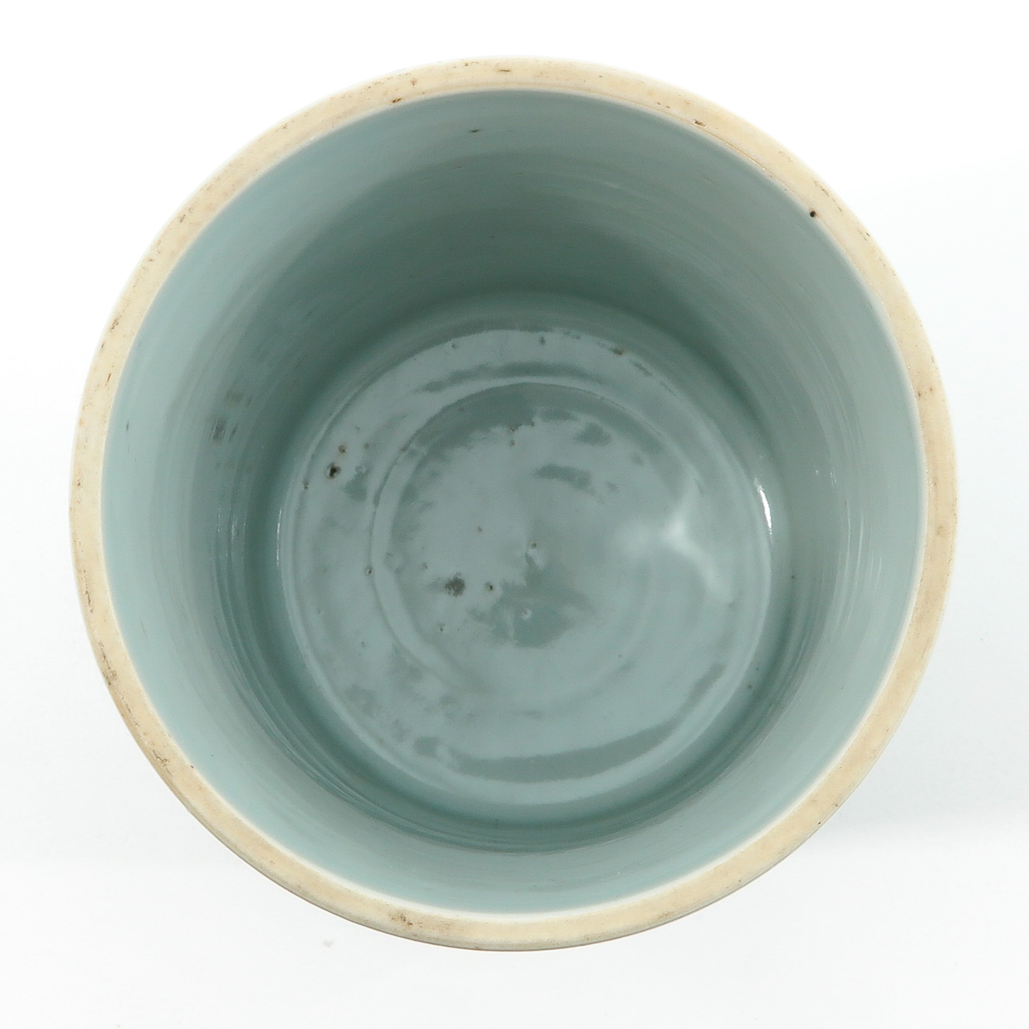 A Blue and White Brush Pot - Image 5 of 9