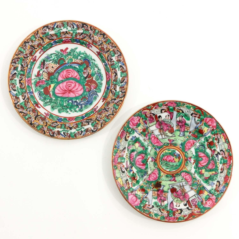 A Series of 8 Kutani Plates - Image 5 of 10