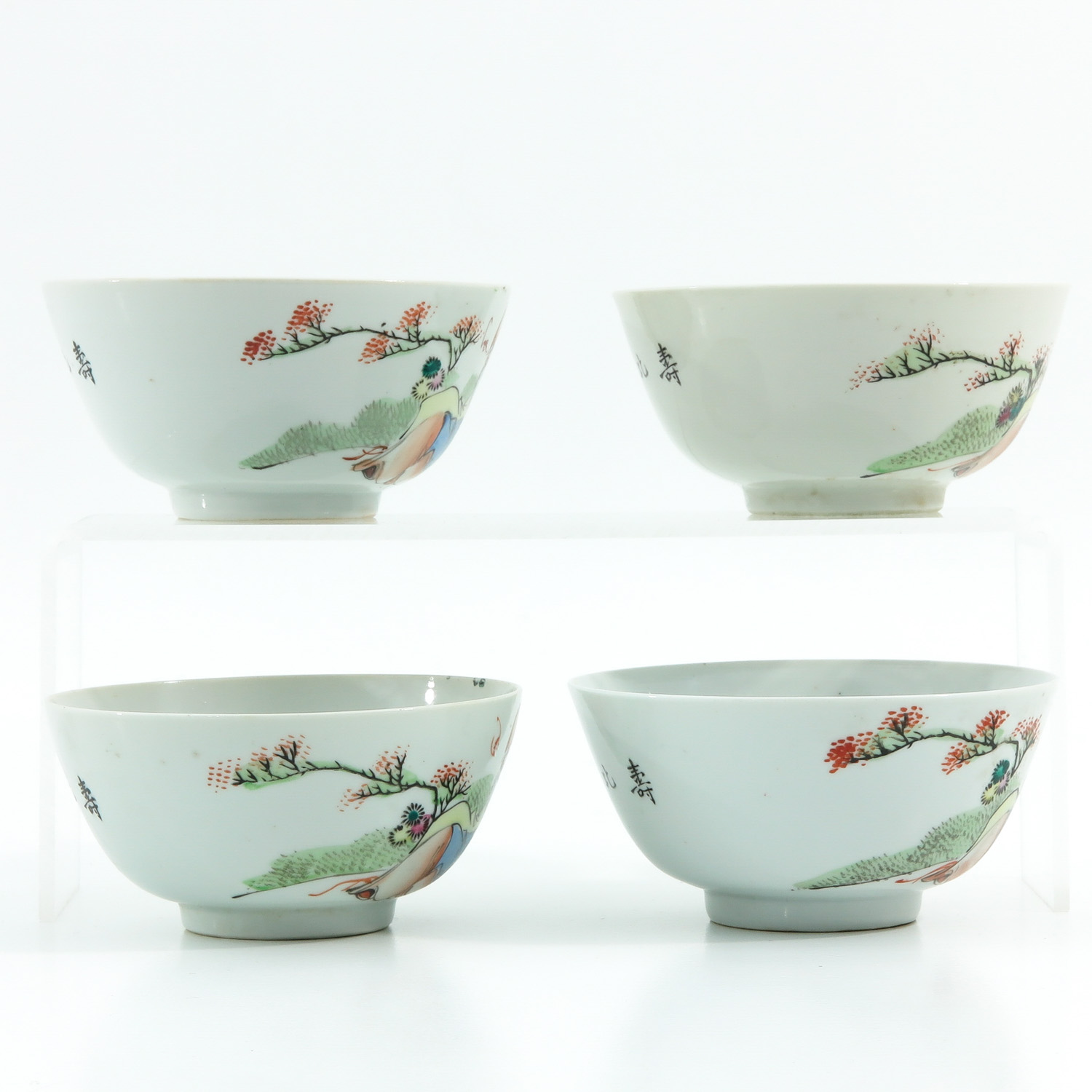 A Series of Polychrome Bowls - Image 4 of 9