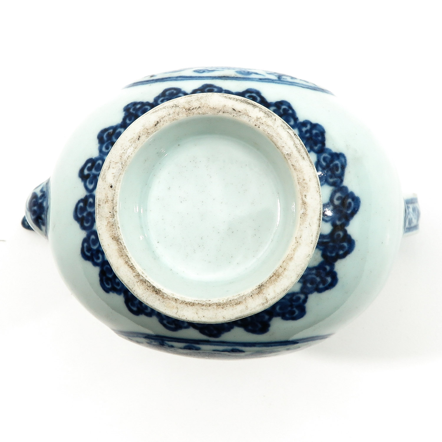 A Blue and White Kendi - Image 6 of 9