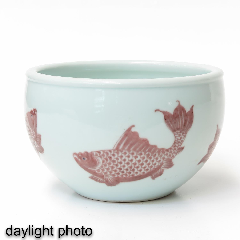 A Fish Decor Cache Pot - Image 7 of 9