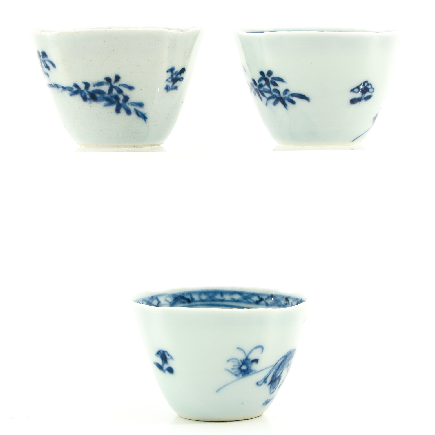 A Collection of 3 Cups and Saucers - Image 3 of 9