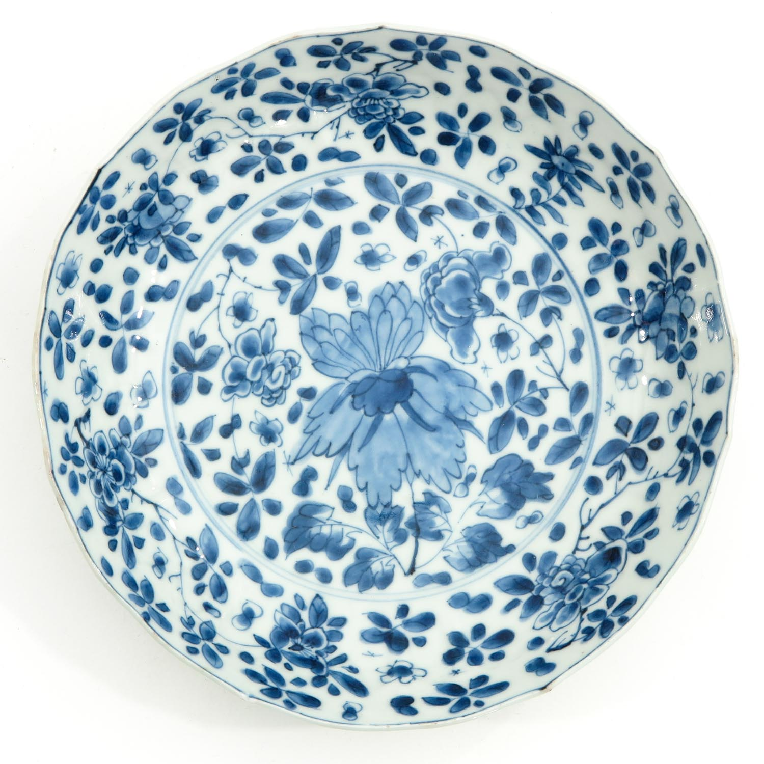 2 Blue and White Plates - Image 5 of 10