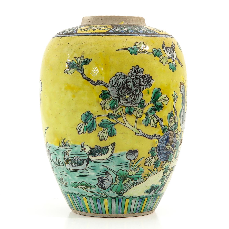 A Famille Jaune Vase - Image 4 of 9