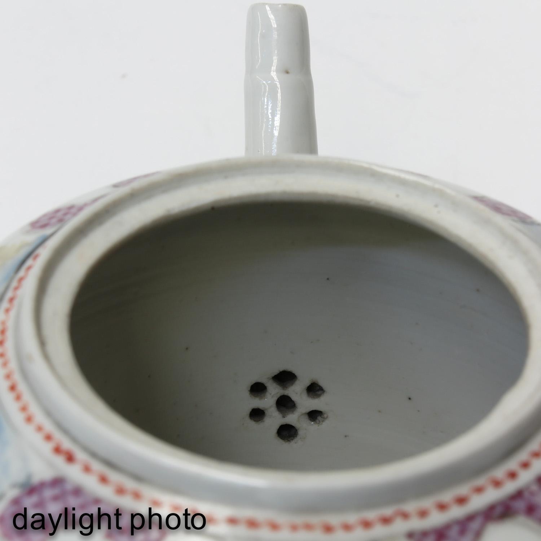 A Mandarin Decor Teapot - Image 9 of 9
