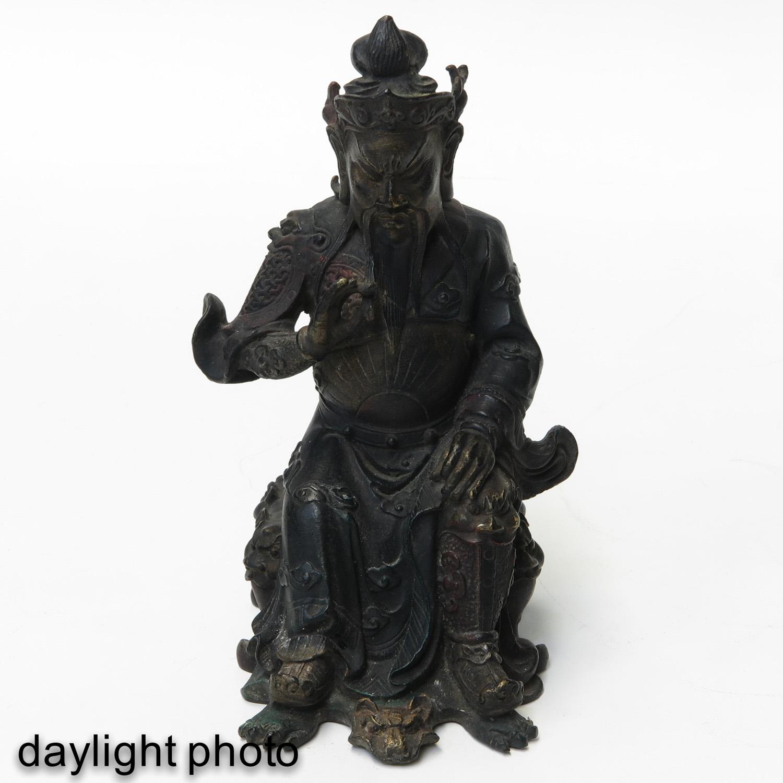 A Bronze Sculpture - Image 7 of 10