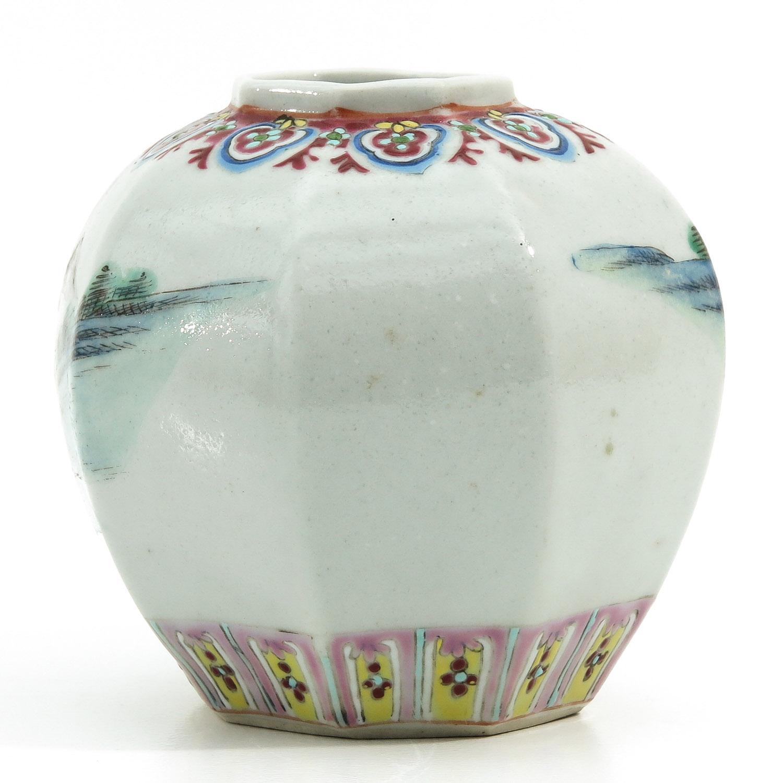 A Polychrome Vase - Image 3 of 9
