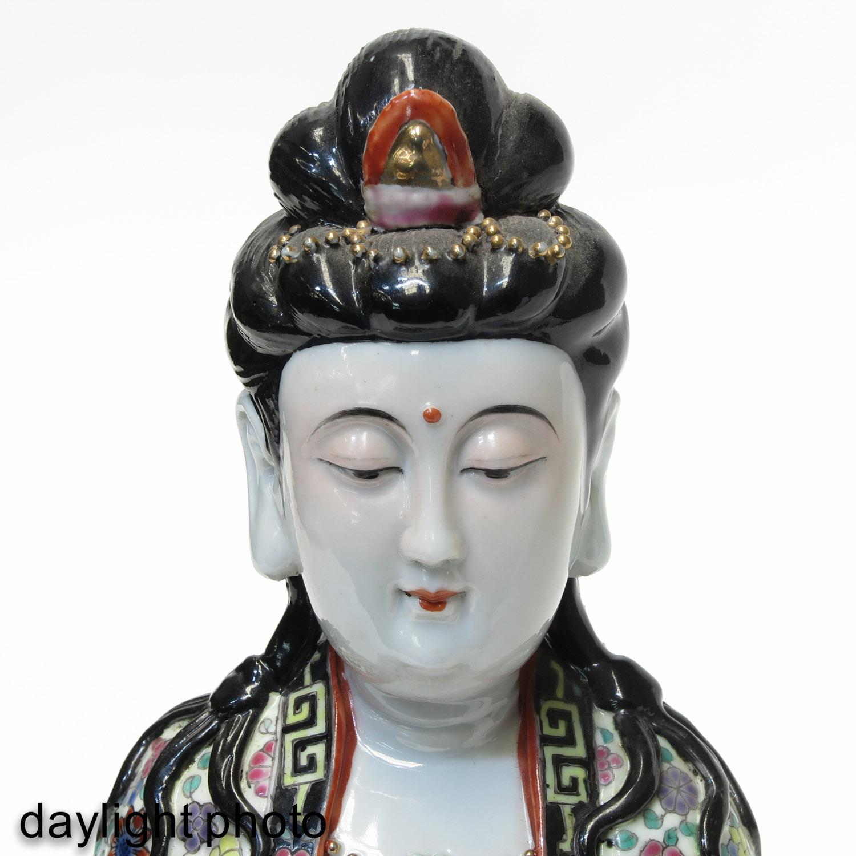 A Quanyin Sculpture - Image 10 of 10