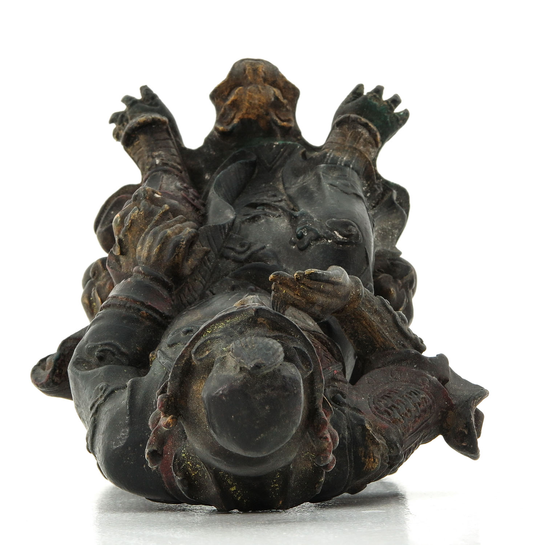 A Bronze Sculpture - Image 5 of 10