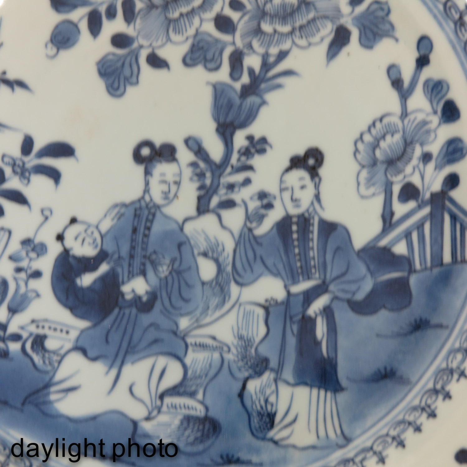 A Blue and White Plate - Image 5 of 5