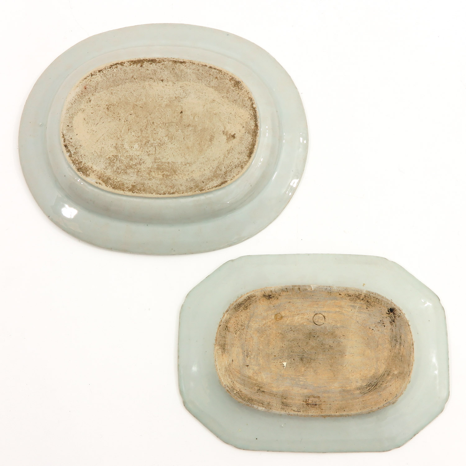A Lot of 2 Blue and White Trays - Image 2 of 10