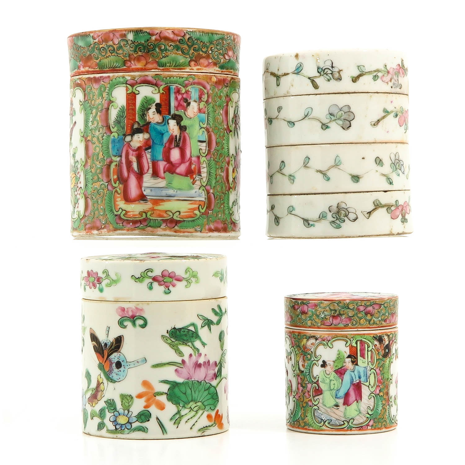 A Collection of 4 Chinese Boxes - Image 3 of 10