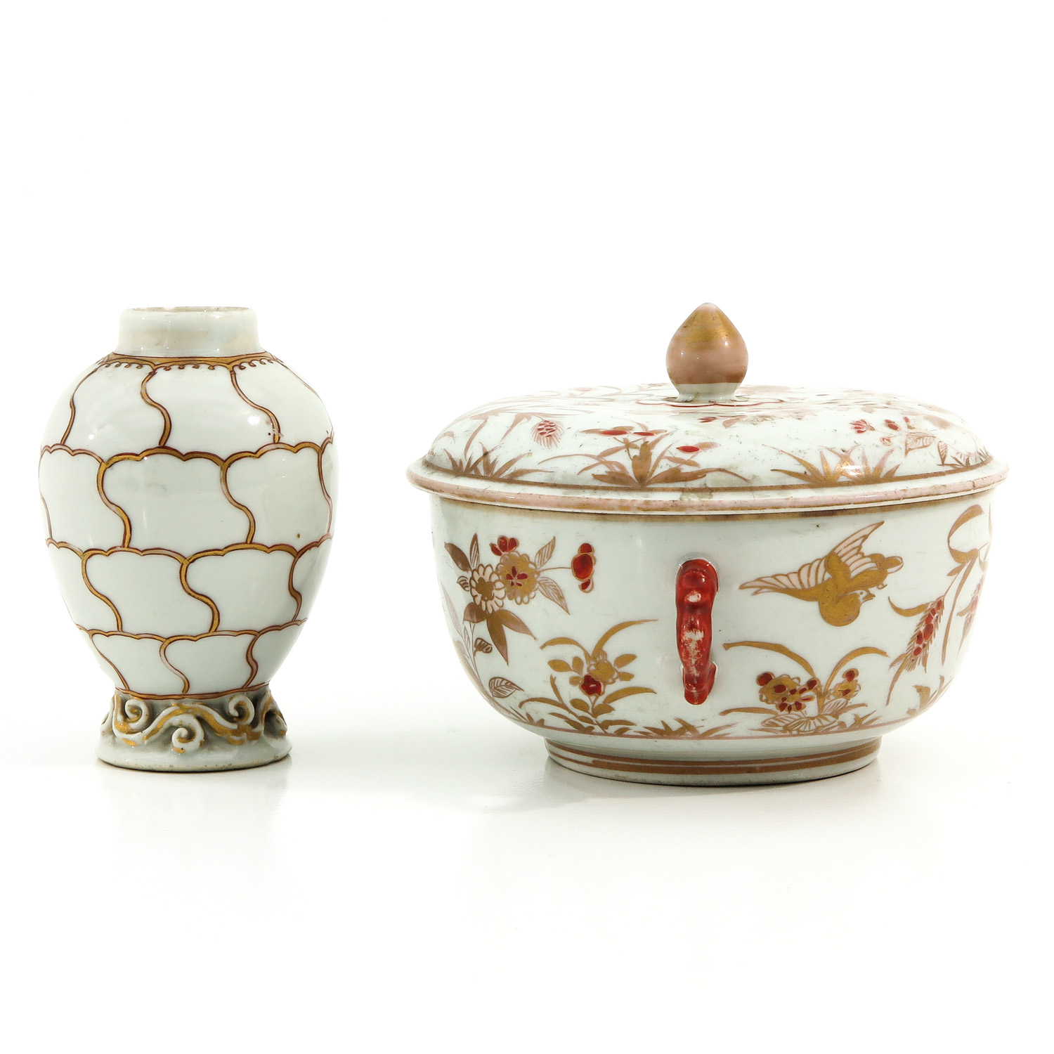 A Tea Box and Covered Dish - Image 2 of 9