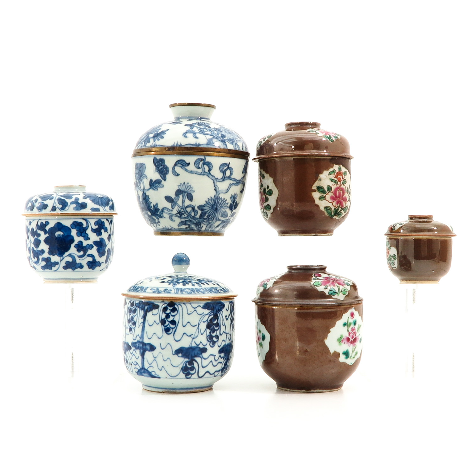 A Collection of Jars with Covers - Image 2 of 10