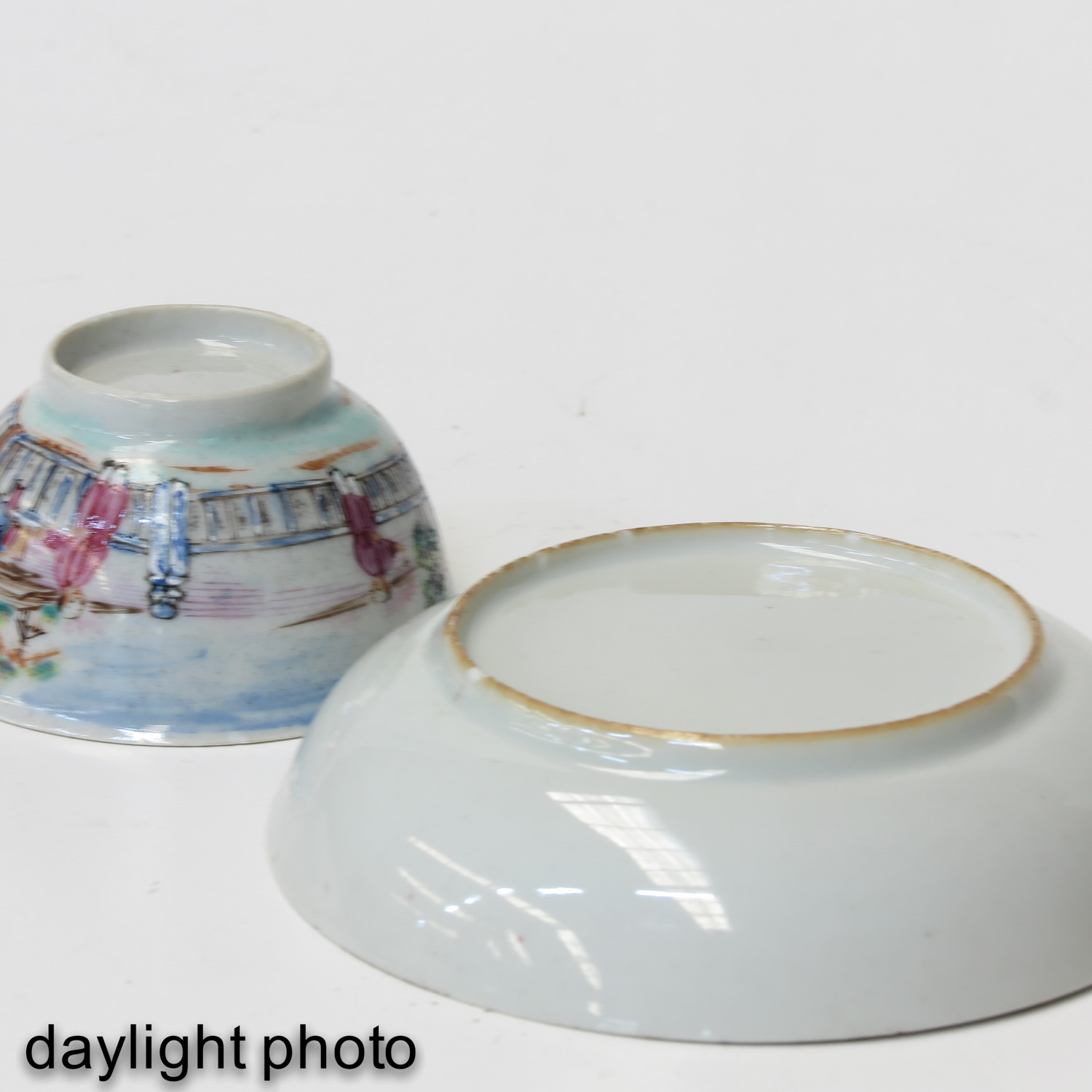 A Series of 3 Cups and Saucers - Image 10 of 10