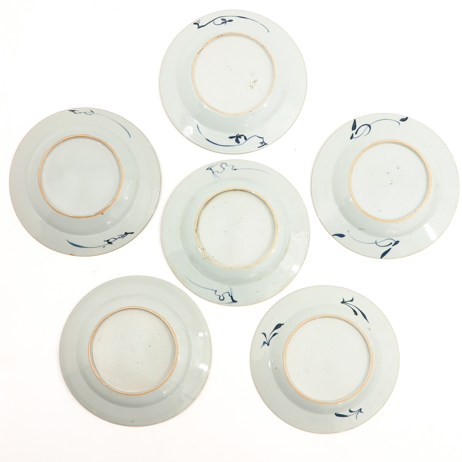 A Series of 6 Blue and White Plates - Image 2 of 10