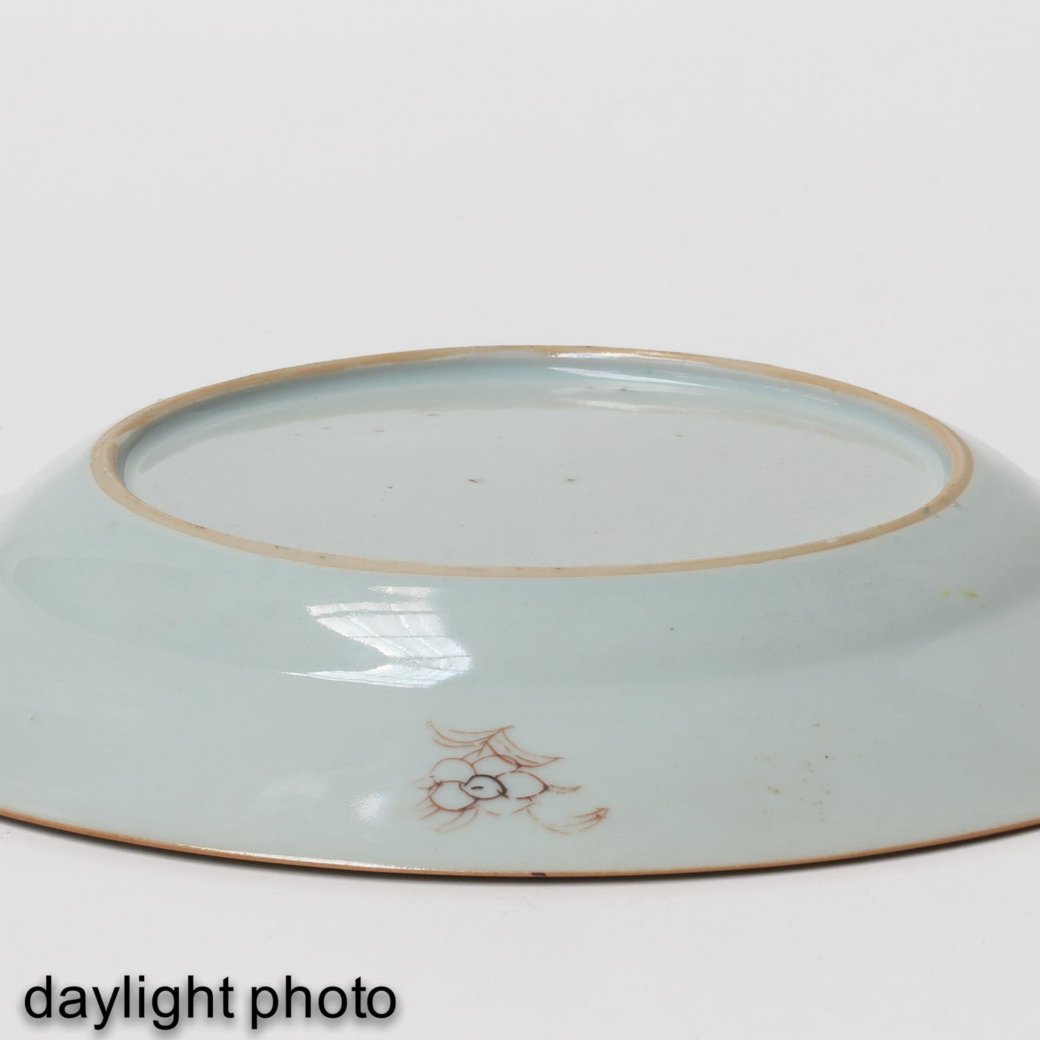 A Series of 4 Famille Rose Plates - Image 8 of 9