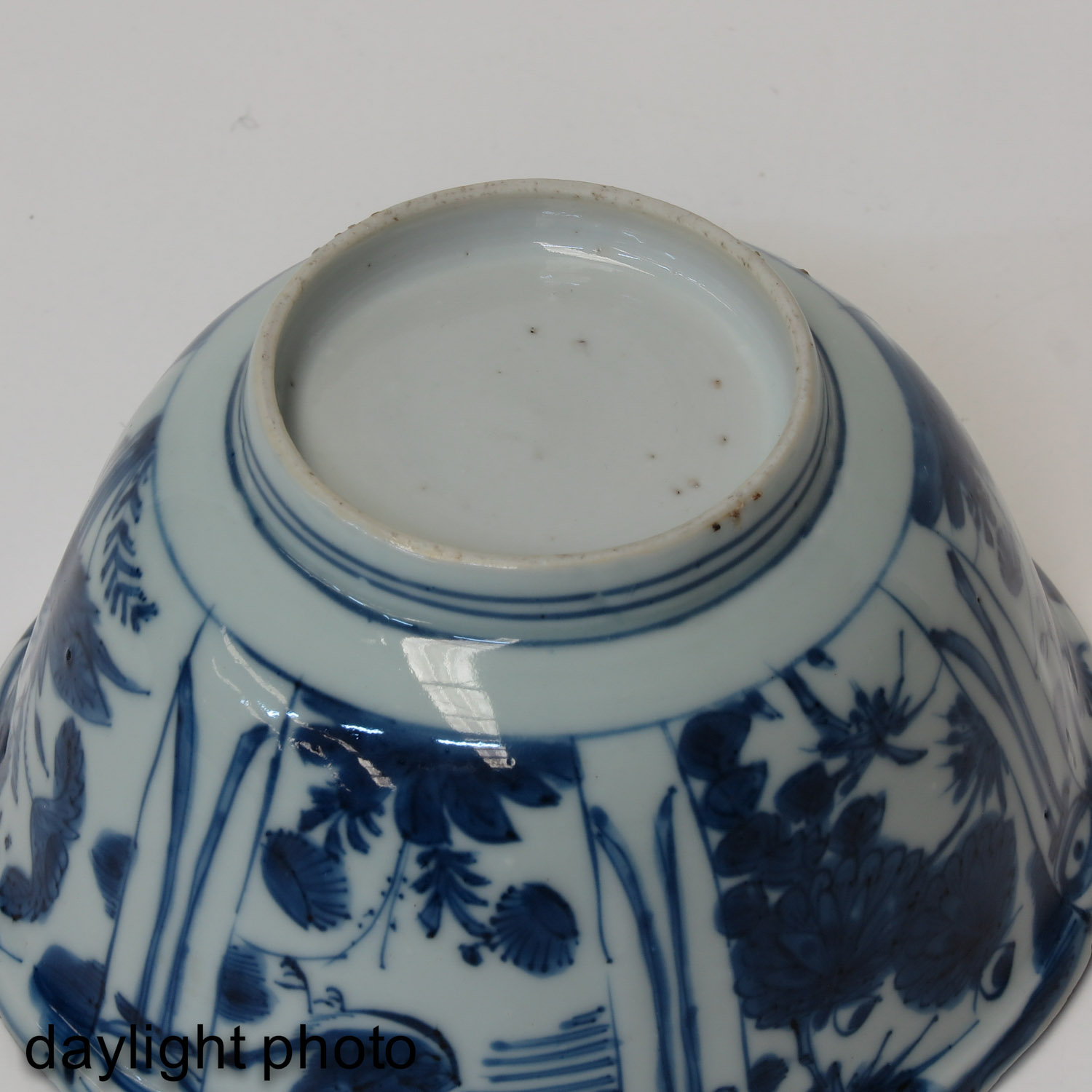A Blue and White Wanli Bowl - Image 8 of 9