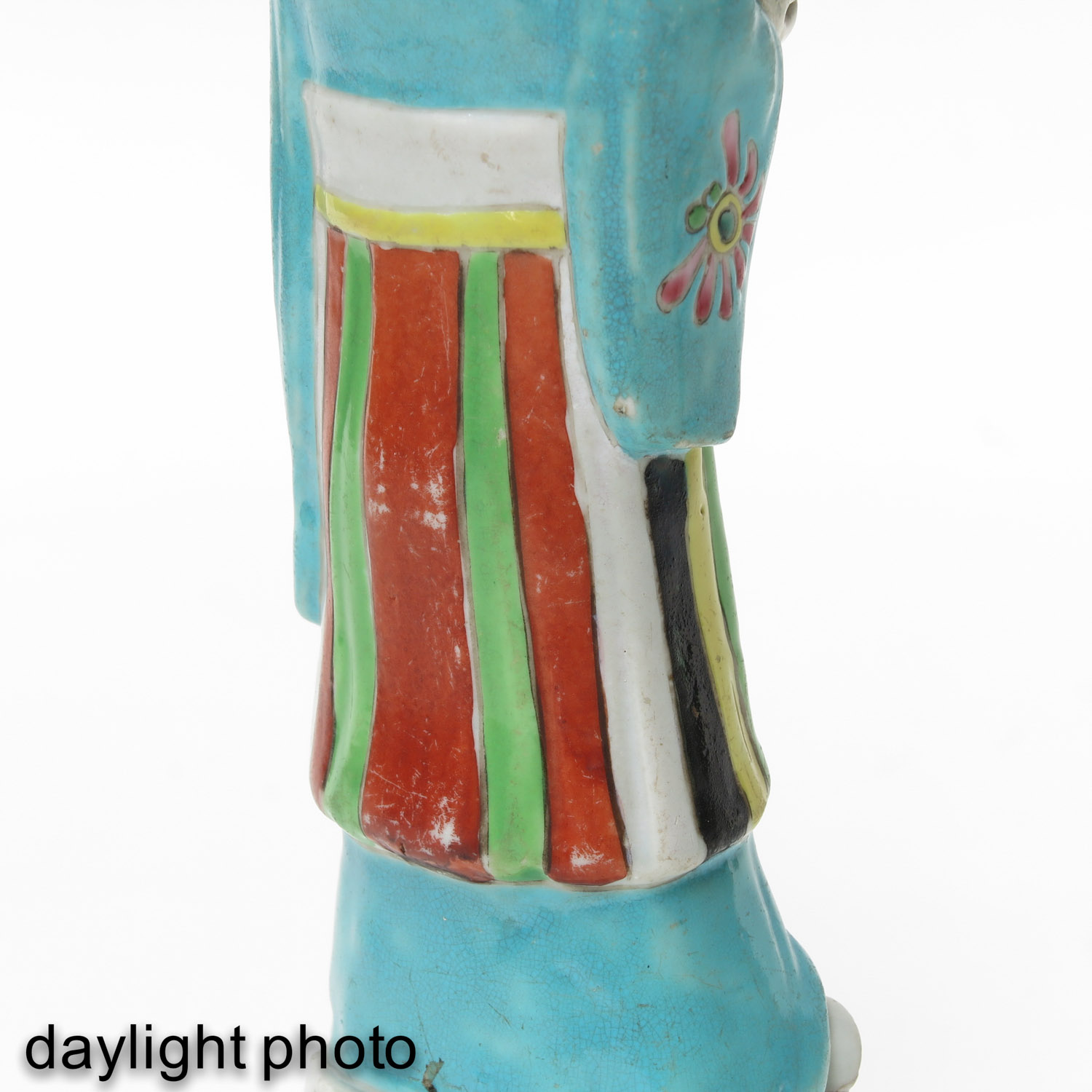 A Pair of Famille Rose Figures - Image 9 of 10